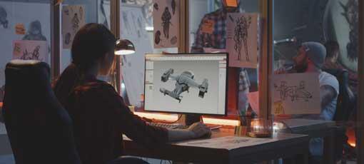 Fernlehrgang zum 3D-Spieleentwickler